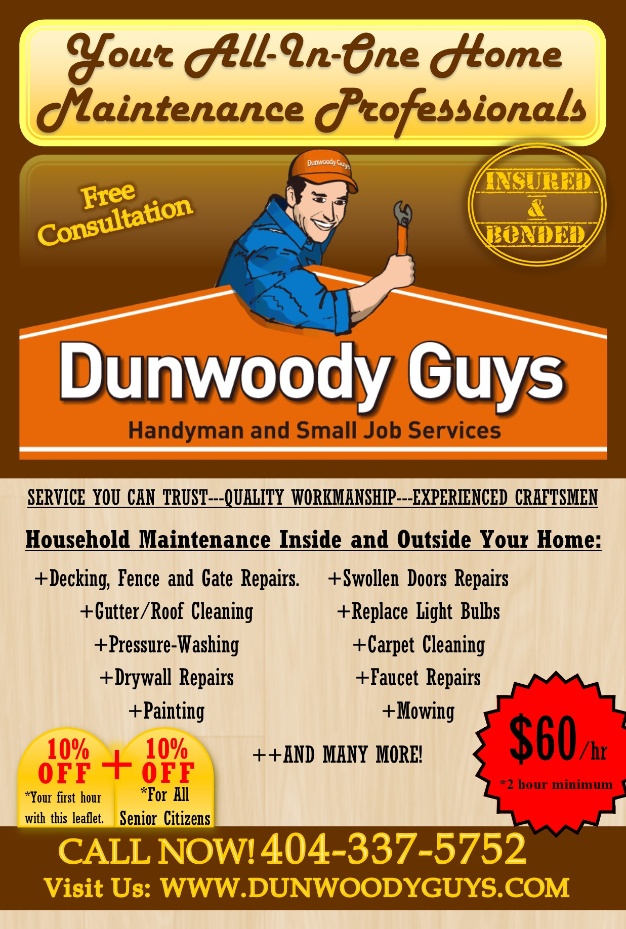 Dunwoody Guys Repairs Amp Maintenance General Home